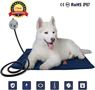 Namsan Pet Heating Mat Dog Safety Pads Cat Electric Heating Blanket with Free Cover