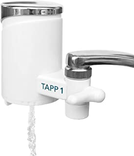 TAPP Water TAPP 1 - Filtre à eau pour la cuisine - Élimine le chlore, les sédiments, la rouille, les nitrates, les pestici...