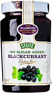 Stute Diabetic Blackcurrant Jam, 430g