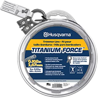 Husqvarna 639 00 51-05 TitaniumForce Trimmer Line - 1-Pound .105-Inch