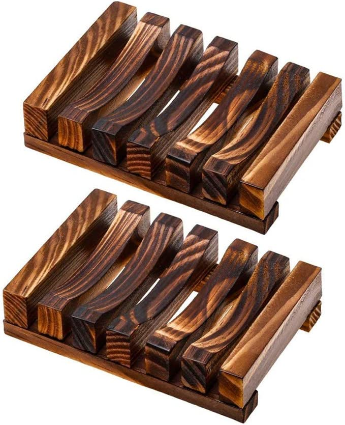 AISIBO Hawaii Recommended Award-winning store Style Handmade Wood Bathroom Soap Dish Wooden