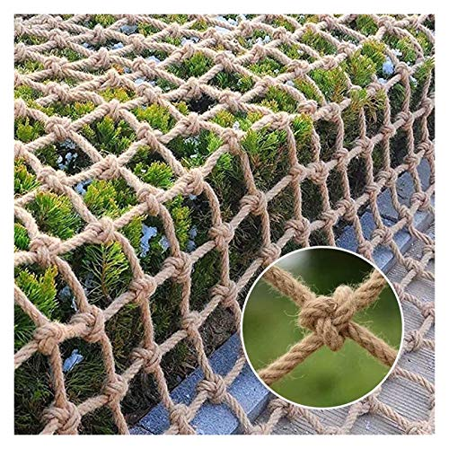 MBTY Rope Net for Birds, Child Safety Net Playground Climbing Netting Heavy Duty Cargo Net Garden Swing Railing Protective Net Treehouse Rope Ladder (Size : 28m(6x26ft))