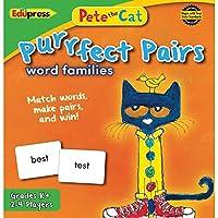 [Edupress]Edupress Pete the Cat Purrfect Pairs Game, Word Families EP3532 [並行輸入品]