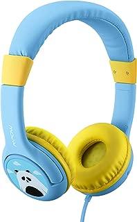 Mpow 子供 ヘッドホン 子供ヘッドフォン シェアポート付き 有線 ヘッドセット超軽量 85dB音量制限 かわいいパンダ仕様 マイク搭載 iPad、iPod、iPhone タブレット ラップトップ Androidスマートフォン PCコンピュータに適用
