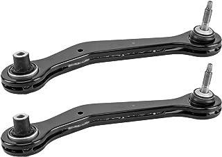 Bapmic Rear Left 33326770859 + Right 33326770860 Upper Rearward Control Arm Kit for BMW E53 X5