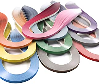 JUYA Paper Quilling Gradient Series Set 10 Colors QP388 (10 Packs Individual, Width: 3mm)
