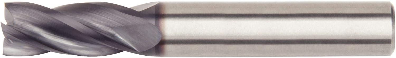 Carbide Ball Nose 2-Flute 8 mm Cutting Diameter WIDIA Hanita 40210800T040 VariMill 4021 GP Roughing//Finishing End Mill TiAlN RH Cut Straight Shank