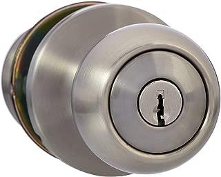 door with a lock
