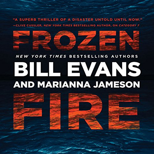 Frozen Fire audiobook cover art