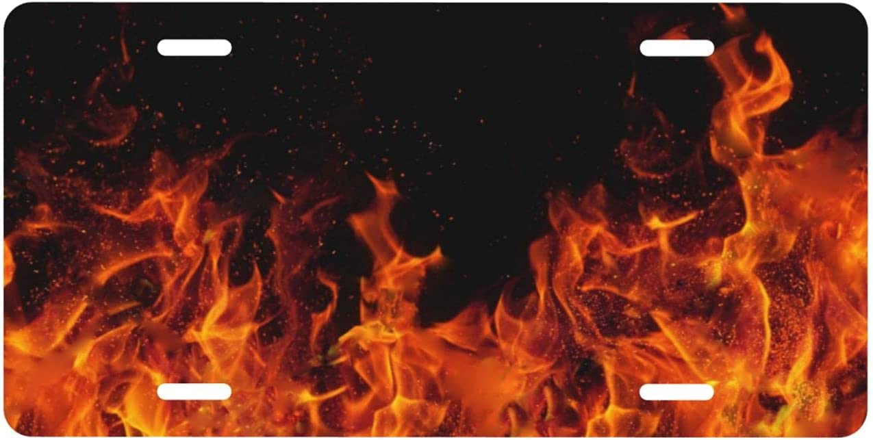 NEW New Shipping Free NCHOME License Plate Flame Cover Met Premium Front