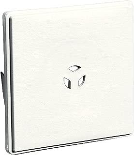 Builders Edge 130110008123 Surface Block, White
