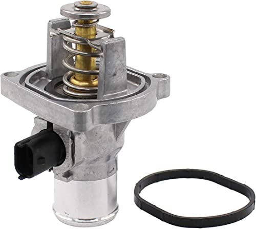 NewYall Engine Coolant Thermostat Housing Assembly w/Gasket product image