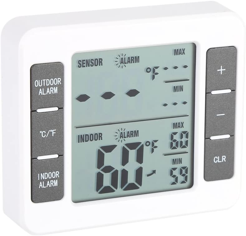Freezer Thermometer Digital Oakland Mall Refrigerator Di Trust Wireless