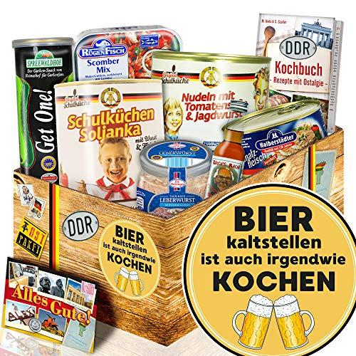 Bier kalt stellen ist… + Geschenke zu Männer + DDR Geschenkset