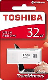 فلاش توشيبا USB3.0 أبيض موديل Hayabusa