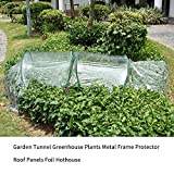 Beaviety Cubierta De Invernadero Plegable De PVC Arch Garden Conservatory Home Plant Vegetable Greenhouse Mini Garden Heater Cover