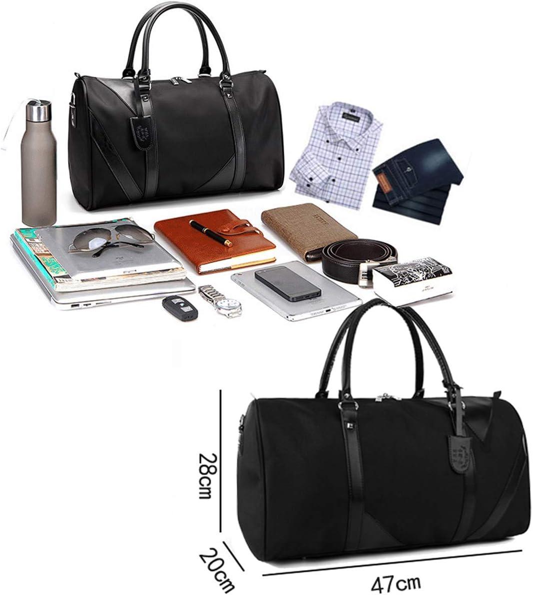 Vohoney Sporttasche Reisetasche Weekender Schwimmtasche Schultertaschen Tasche f/ür Sport Fitness Gym Travel Bag Duffel Bag mit Schuhfach