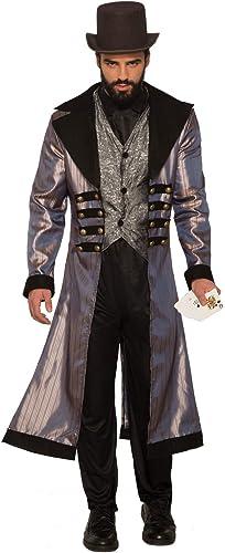 almacén al por mayor Forum Forum Forum Novelties, Inc Deluxe Badlands Gambler Fancy Dress Costume Standard  Obtén lo ultimo