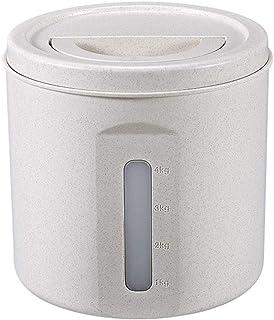 WWJHH-Food storage box Boîte de Rangement de Cuisine Alimentaire - Seau de Riz étanche à l'humidité 5 kg/10 kg - Convient ...