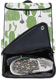 DEZIRO - Mochila para ordenador portátil, cactus, pimienta, baldosas, para viajes, para mujeres y hombres, universidad, escuela, mochila de negocios, mochila para negocios.