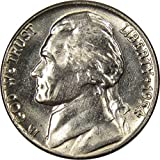 1954 D Jefferson Nickel 5 Cent Piece BU Uncirculated Mint State 5c US Coin