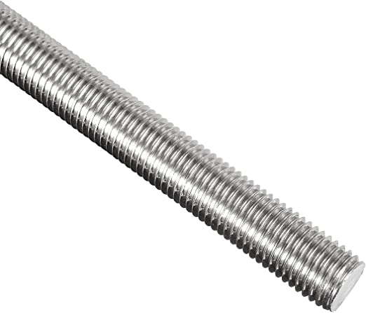 12-Pack Hillman 44842 M6-1.00 x 100 Zinc Threaded Rod