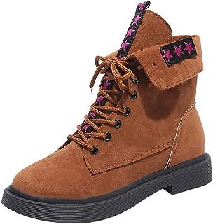 [Regoss (レジス)女性] プラスベルベット スノーブーツ マーティン ショート 綿の靴 レザー 柔軟性抜群 ワイズ スニーカー 軽量 通気 防寒 防滑 保暖 裏起毛 冬用 女の子 メンズ レディース 綿靴 雪靴 登山靴