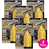painting cones - K&M of Virginia Painter's Pyramid Stands 10 Count, Multipack of 6