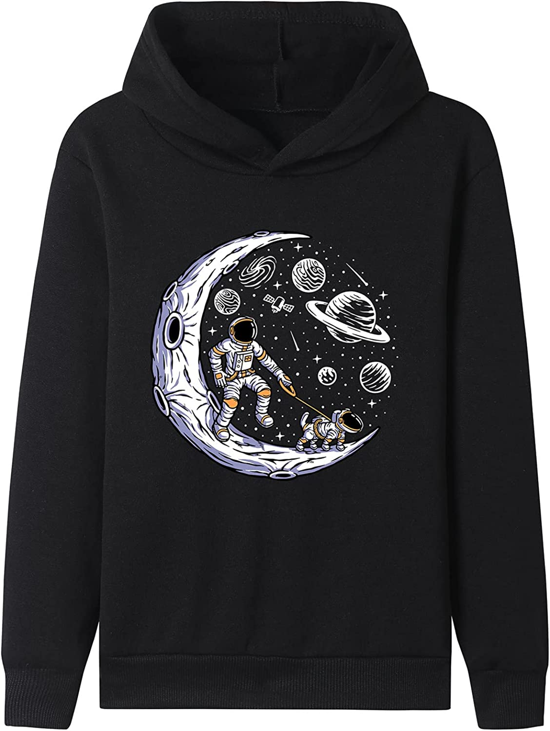 Space Dog Memphis Mall Kids Hoodies 5-13 Years) Black Youth Sudadera Free Shipping New