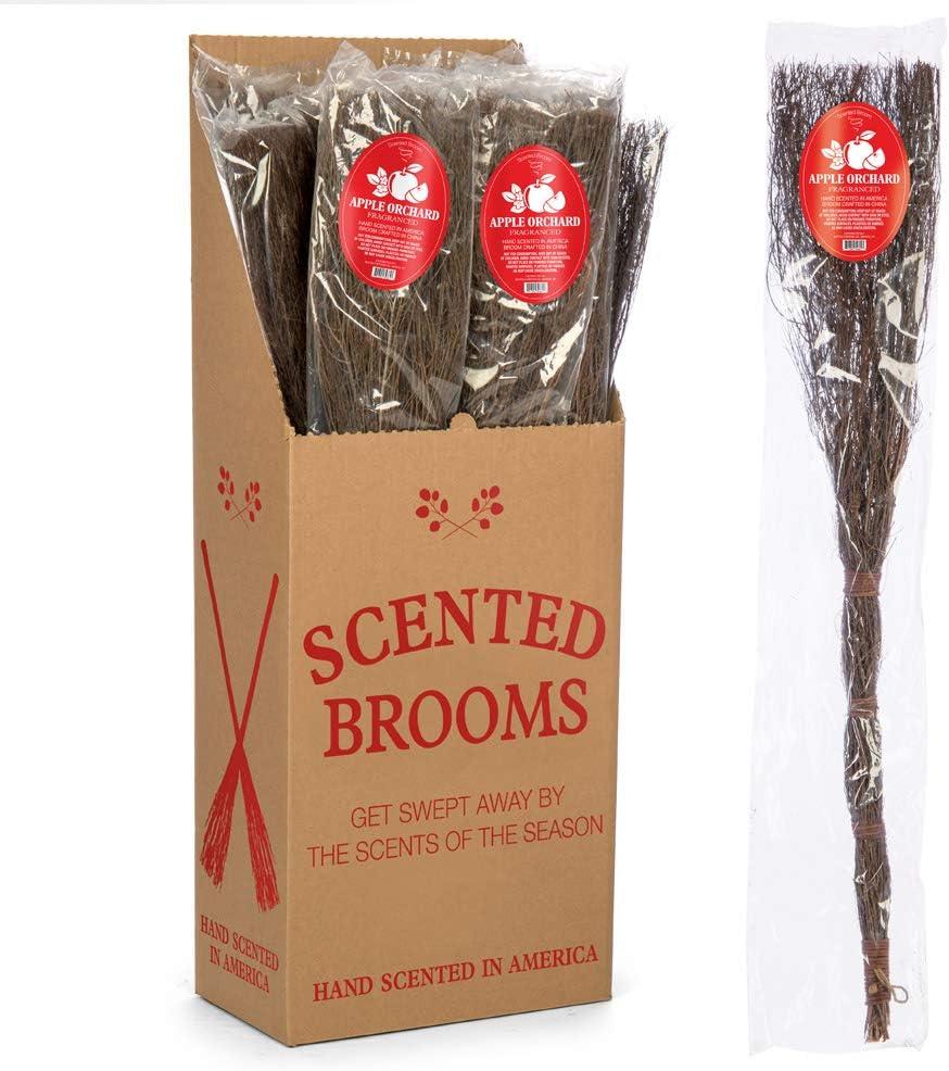 BUFFALO BROOMS Apple Spice Scented Broom 36