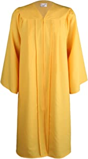 OSBO GradSeason Unisex Matte Robes for Graduation Gown, Choir Robes, Pulpit Robe and Pastor