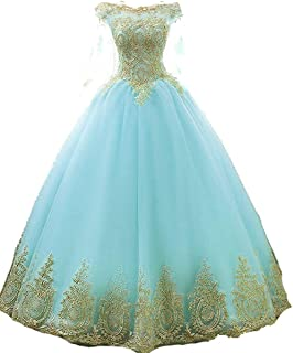 AWBJN DNWVA Prom Dress Long Tulle Off Evening Dress Special Occasion Dress