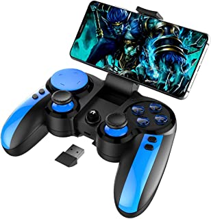 iPEGA PG-9090 Wireless +2.4G Double Gamepad Joystick Multimedia Game Controller Compatible IPhone8/XR/XS for Android Mobile Phone Tablet PC Android TV
