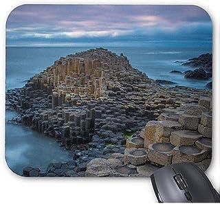 Alfombrilla Antideslizante para Juegos (Alfombrilla para ratón Coastal Giants Causeway Ireland)