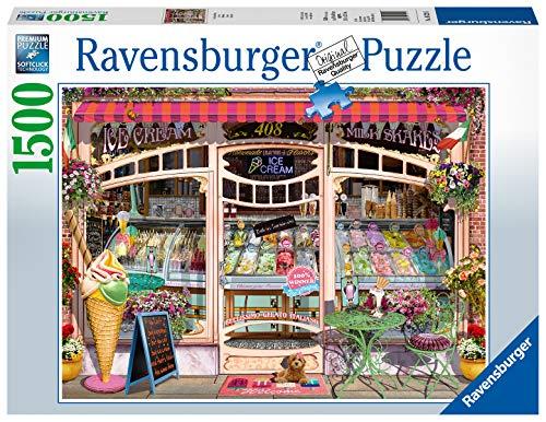 Ravensburger Puzzle 16221 - Ice Cream Shop - 1500 Teile Puzzle für Erwachsene und Kinder ab 14 Jahren