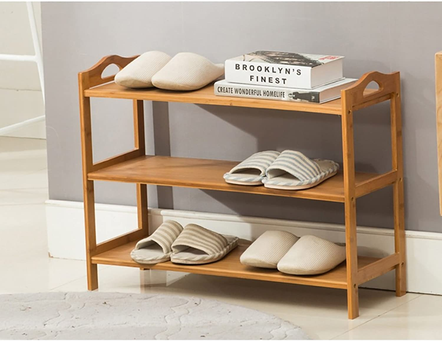 shoes Bench Organizing Rack Bamboo shoes Rack Bench 3 Tier shoes Stand Rack Storage Organiser Holder 502653cm