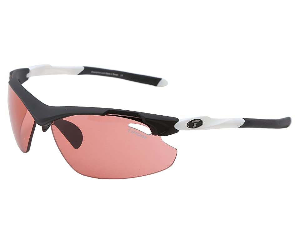 Tifosi Optics Tyranttm 2.0 Fototec High Speed Red (Black/White/High Speed Red Fototec Lens) Athletic Performance Sport Sunglasses