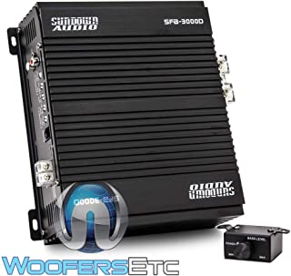 Sundown Audio SFB-3000D 3000W RMS Class D Amplifier