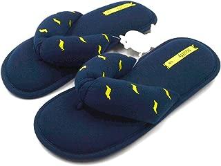 Millffy Memory Foam Cushioning Summer SPA Women's Knit Thong Slipper Japanese Cotton Slippers