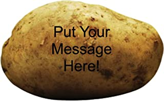 Send A Message On A Real Potato Gag Gift