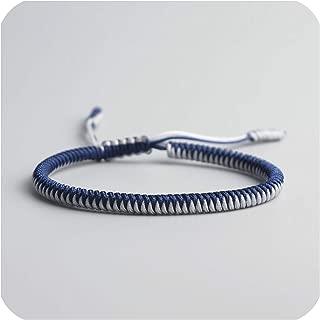 Love Lucky Charm Bracelets & Bangles for Women Men Handmade Knots Rope Bracelet