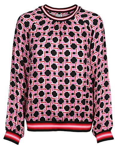 Emily van den Bergh Damen Bluse Größe 40 EU Rot (rosa)