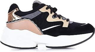 LIU JO Luxury Fashion Womens B69041PX044S1007 Black Sneakers | Fall Winter 19
