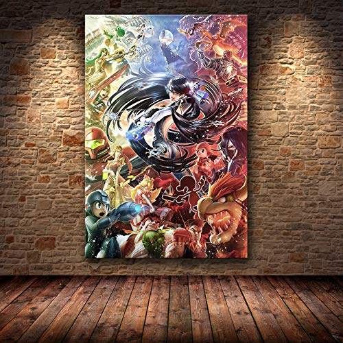 mmzki The Poster Decoration Gemälde auf HD Leinwand Leinwand Gemälde Kunst Spielplakat Wandkunst Leinwand