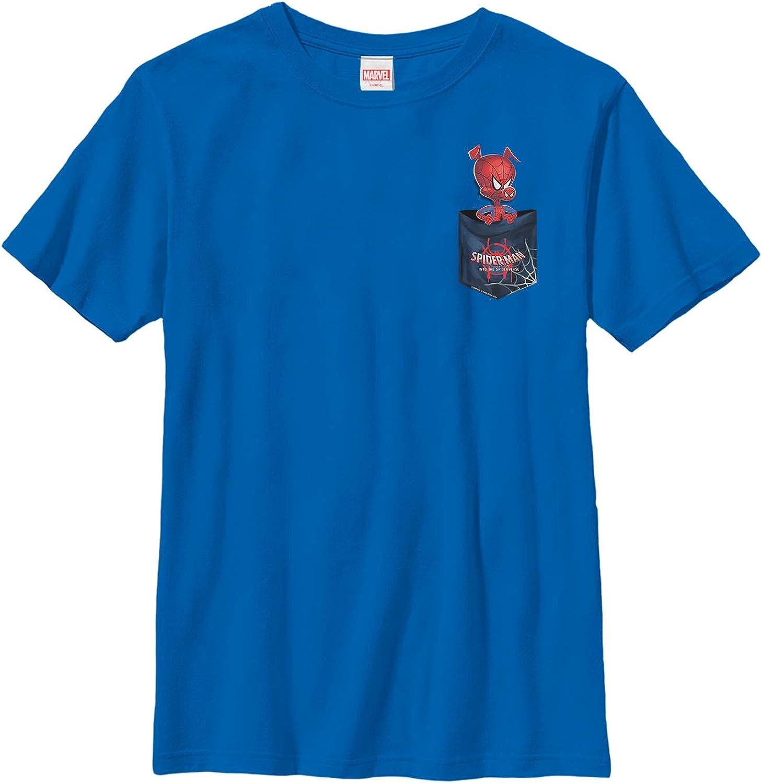 Boy's Marvel Spider-Man: Into The Spider-Verse Spider-Ham Pocket T-Shirt