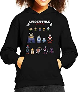 Cloud City 7 Undertale Spoilers Kid's Hooded Sweatshirt