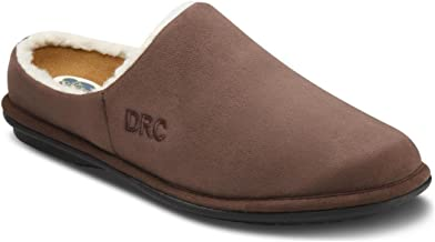 Dr. Comfort Men's Easy Chocolate Diabetic Slippers