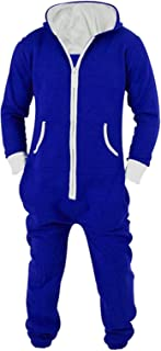 Jormarcos Unisex Onesie Jumpsuit Sportswear Zip Up Adult With Hoodie Pajamas