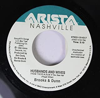 Brooks & Dunn 45 RPM Husbands and Wives / How Long Gone