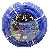 "S&M 553134 Manguera de jardinería Reforzada Blue Garden, Azul, Rollo 50 metros-19 x 25 mm-(3/4"")"